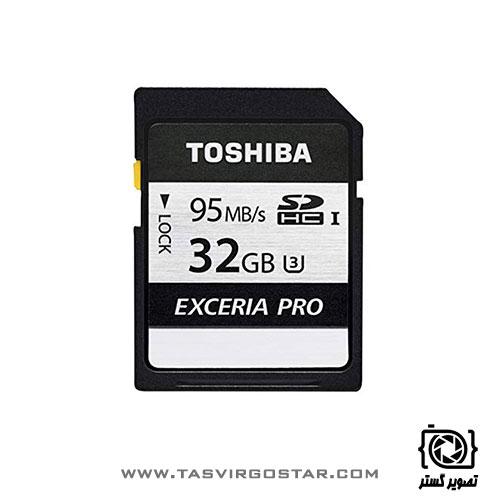 کارت حافظه SDXC توشیبا Exceria Pro N401 32GB