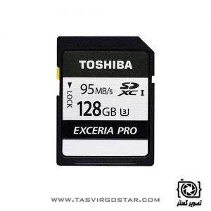 کارت حافظه SDXC توشیبا Exceria Pro N401 128GB UHS-I U3 Class 10