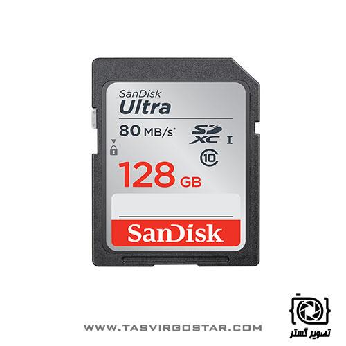 کارت حافظه سن دیسک SDXC 128GB Ultra
