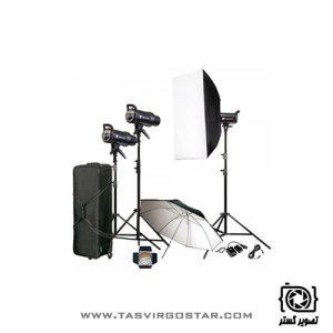 کیت فلاش S&S 400J Studio Flash Kit SK-400