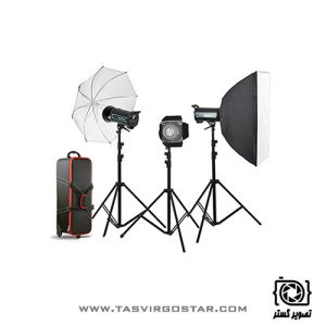 کیت فلاش S&S 400J Studio Flash Kit QS-400 II