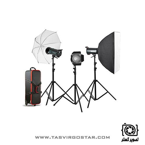 کیت فلاش S&S 400J Studio Flash Kit QS-400 II