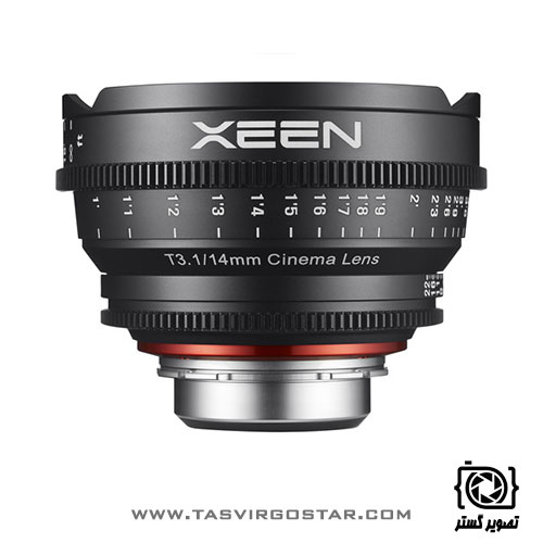 لنز سینمایی زین Xeen 14mm T3.1 PL Mount