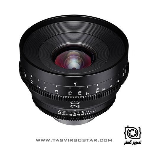 لنز سینمایی زین Xeen 20mm T1.9 Canon EF Mount
