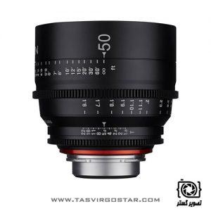 لنز سینمایی زین Xeen 50mm T1.5 Canon EF Mount