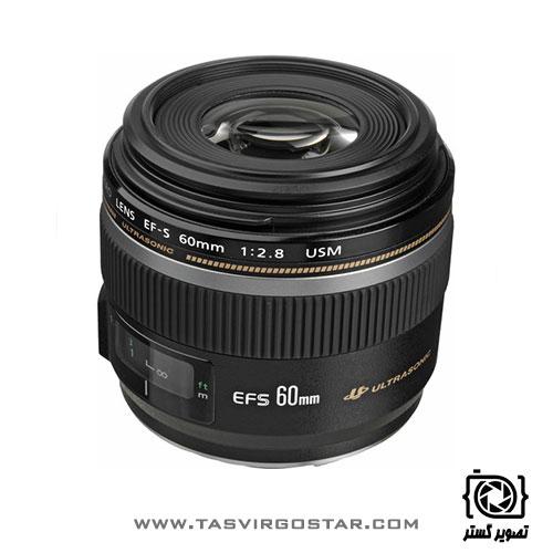 لنز کانن Canon EF-S 60mm f/2.8 Macro USM