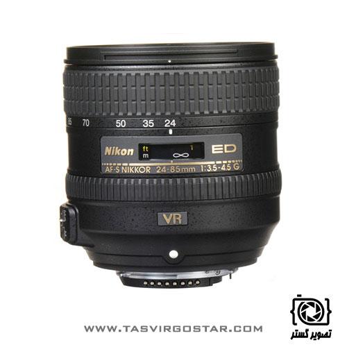 لنز نیکون Nikon AF-S NIKKOR 24-85mm f/3.5-4.5G ED VR