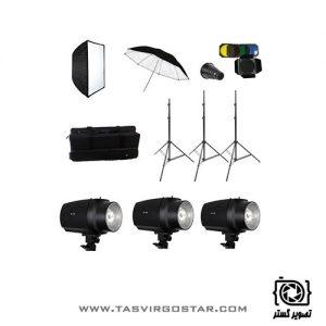 کیت فلاش S&S 180J Studio Flash Kit GY180