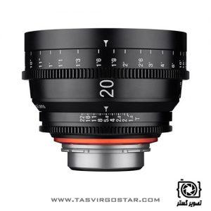 لنز سینمایی زین Xeen 20mm T1.9 PL Mount