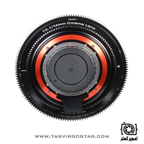 لنز سینمایی زین Xeen 14mm T3.1 Canon EF Mount
