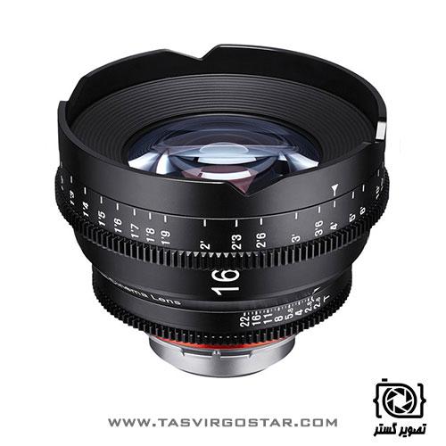 لنز سینمایی زین Xeen 16mm T2.6 Canon EF Mount