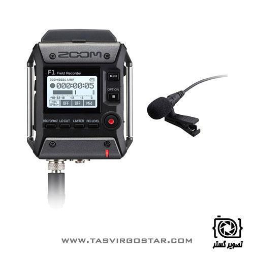 رکوردر زوم Zoom F1 با میکروفون یقه ای