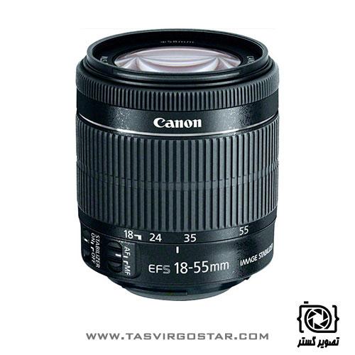لنز کانن Canon EF-S 18-55mm f/3.5-5.6 IS STM