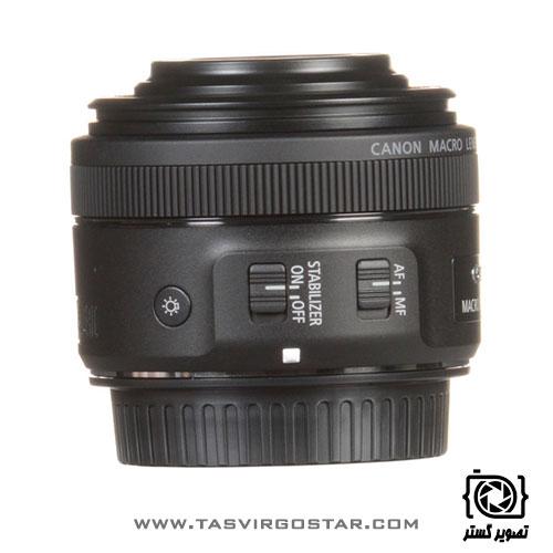 لنز کانن Canon EF-S 35mm f/2.8 Macro IS STM