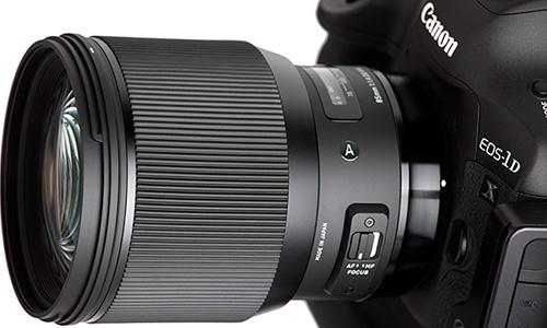 لنز سیگما Sigma 85mm f/1.4 DG HSM Art Canon Mount