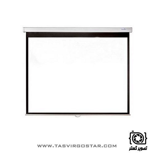 پرده نمایش سقفی دیواری رفلکتا Reflecta 150x150 cm