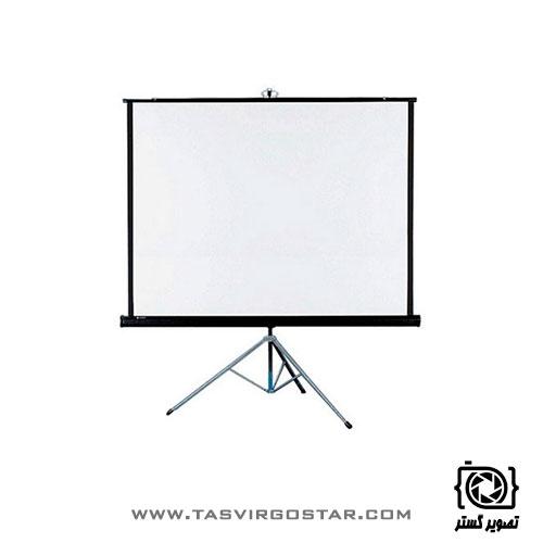 پرده نمایش پایه دار رفلکتا Reflecta 150x150 cm