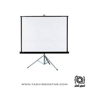 پرده نمایش پایه دار رفلکتا Reflecta 180x180 cm