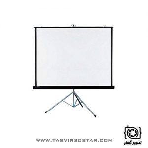 پرده نمایش پایه دار رفلکتا Reflecta 160x160 cm