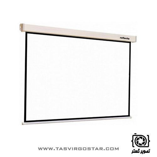 پرده نمایش برقی رفلکتا Reflecta 300x300 cm