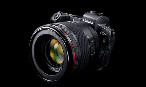 دوربین بدون آینه کانن EOS R معرفی شد
