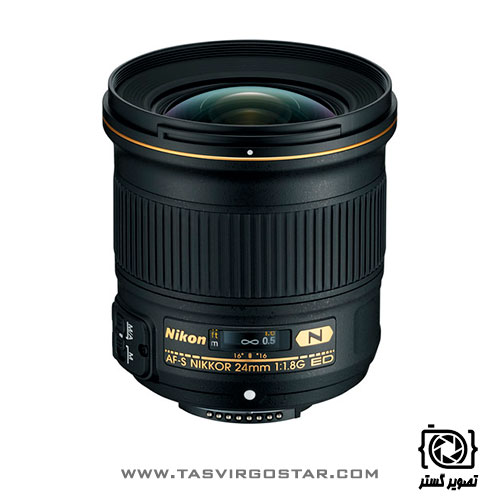 لنز نیکون Nikon AF-S NIKKOR 24mm f/1.8G ED