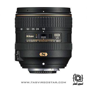 لنز نیکون Nikon AF-S DX NIKKOR 16-80mm f/2.8-4E ED VR