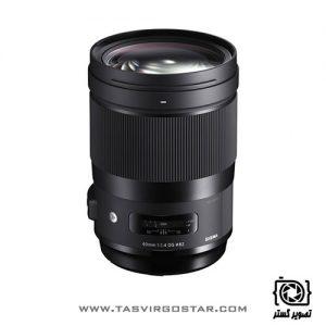 لنز سیگما Sigma 40mm f/1.4 DG HSM Art Nikon Mount