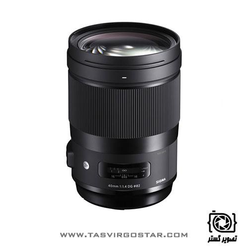 لنز سیگما Sigma 40mm f/1.4 DG HSM Art Canon Mount