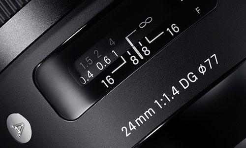 لنز سیگما Sigma 24mm f/1.4 Art Sony E