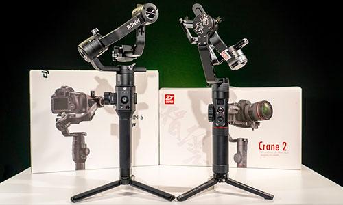 تفاوت بین لرزشگیر دوربین Crane 2 با Ronin S