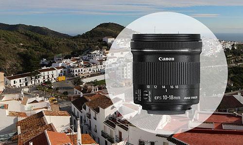 لنز کانن EF-S 10-18mm f/4.5-5.6
