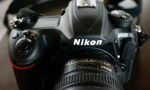 دوربین نیکون D500 بادی