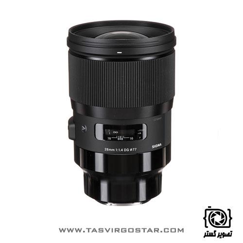 لنز سیگما 28mm f/1.4 Art Sony E
