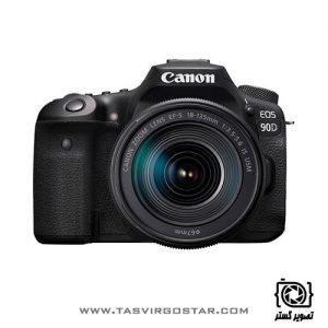 دوربین کانن 90D با لنز 18-135