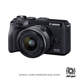 دوربین کانن EOS M6 Mark II با لنز 15-45