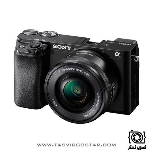 دوربین سونی آلفا a6100 با لنز 16-50