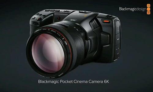 دوربین فیلمبرداری بلک مجیک Pocket Cinema Camera 6K