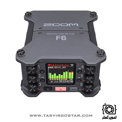 رکوردر صدا Zoom F6