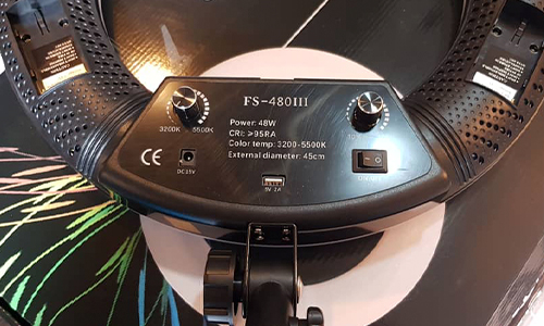 رینگ لایت LED FS-480III