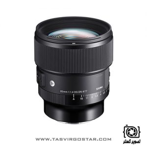 لنز سیگما 85mm f/1.4 DN Art Sony E